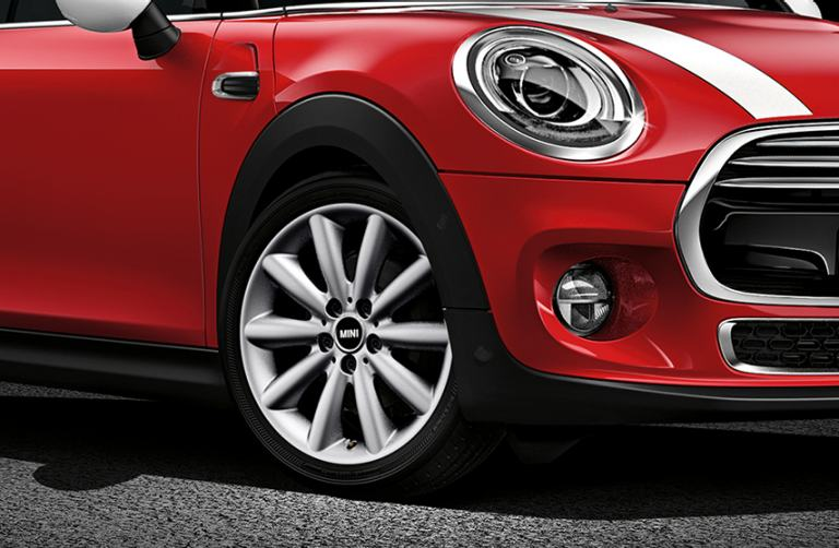 MINI diagonal front