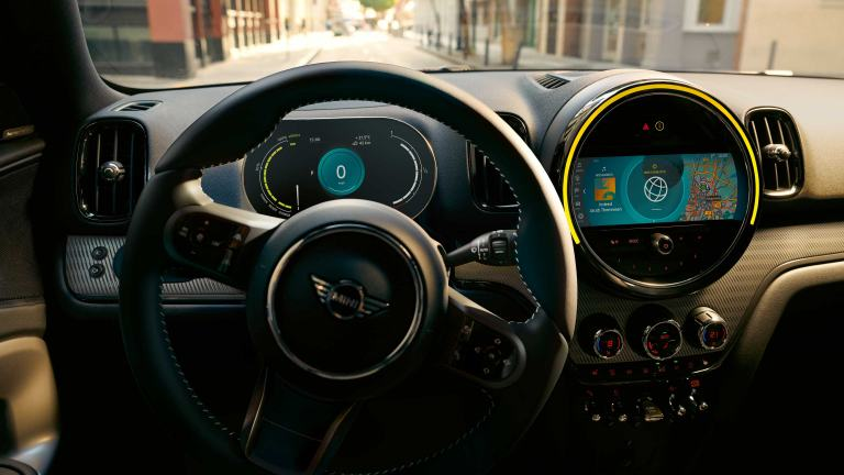 MINI Countryman – cockpit – comfort and tech packs